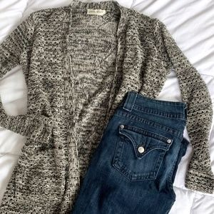 Love Crazy Long Knit Cardigan with Pockets